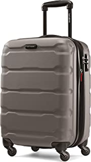 Samsonite Omni PC Hardside Expandable Luggage with Spinner Wheels, Silver, Carry-On 20-Inch