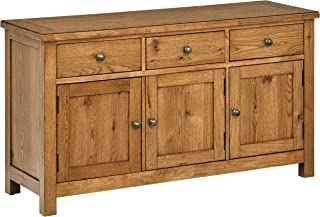 Stone & Beam Parson Rustic Buffet Sideboard Storage Cabinet 56