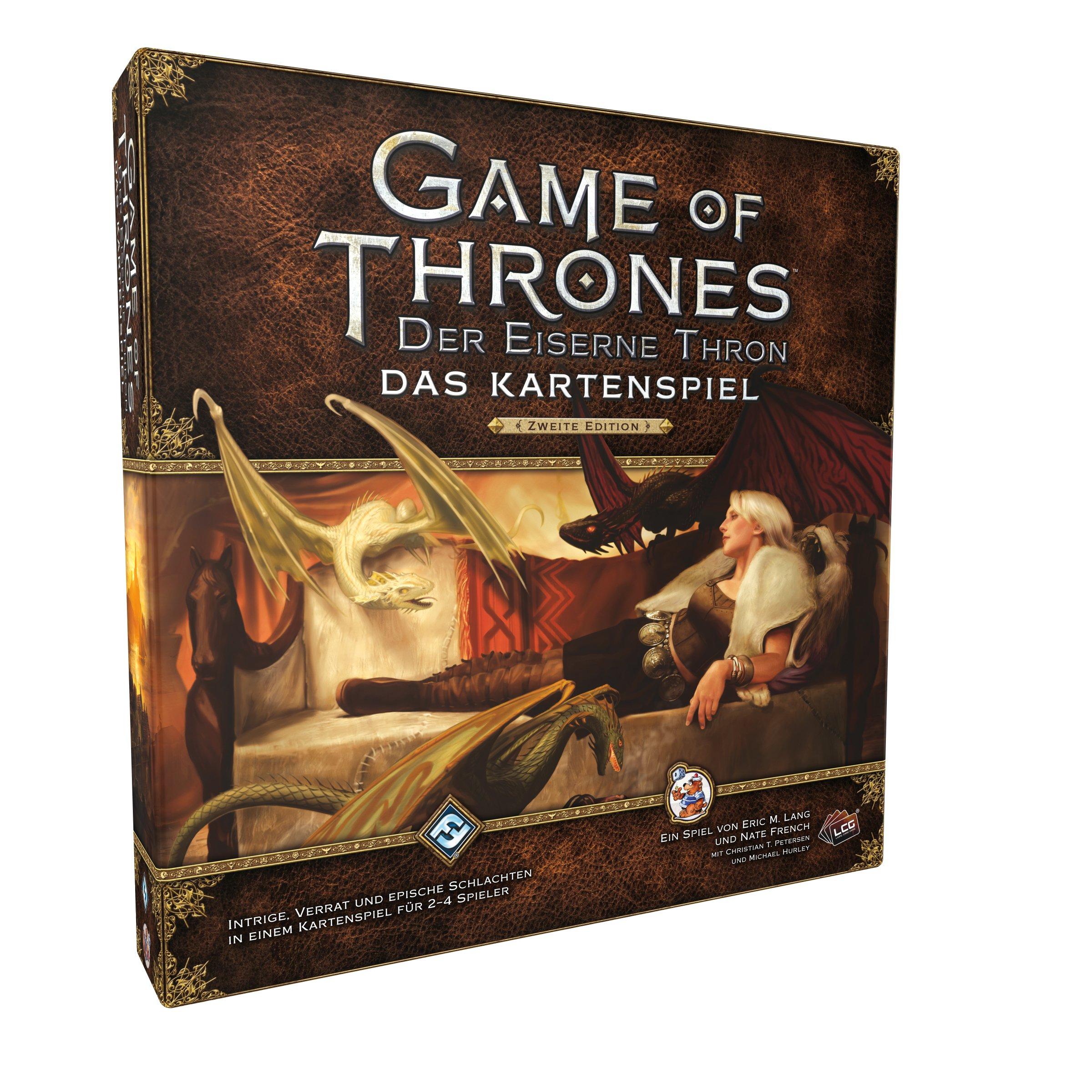 Heidelberger HEI0351 Game of Thrones Juego de Cartas: Trono de Hielo, Set básico, 2ª edición, en alemán -: Amazon.es: Juguetes y juegos