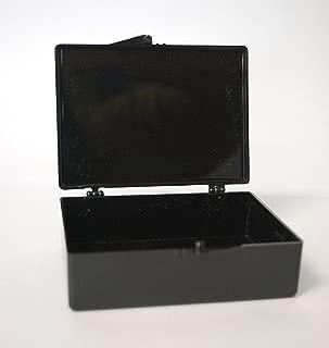 Blotting Boxes, Medium-Rectangle, Black, 9 x 6.5 x 2.5cm, 5 Boxes/Unit