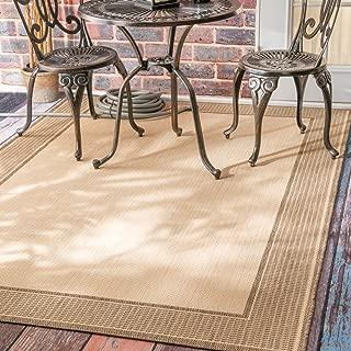 outdoor border rug