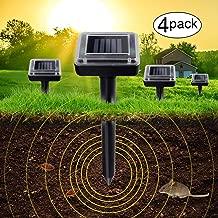 Best solar powered ultrasonic mole repeller Reviews