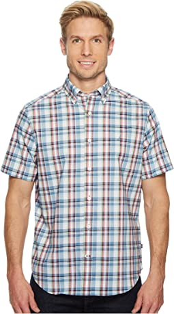 Nautica - Short Sleeve Wear to Work Plaid Shirt