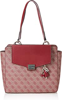 GUESS Women's Valy Status Carryall Shoulder Bag