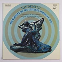 Hindemith - The Harmony Of the Universe  Symphony  (1951) Festival Symphony Orchestra Conducted By Paul Hindemith