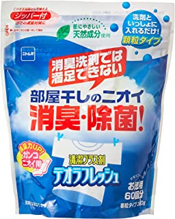 ニトムズ デオラフレッシュ お徳用60回 部屋干しのニオイ・消臭・除菌 天然成分 顆粒タイプ 360g N2050