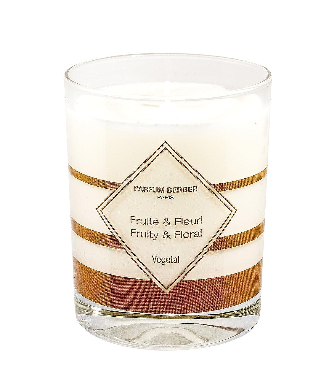 巻き取りしおれた先見の明MAISON BERGER Fruit & Floral Candle, Anti Pet Odor