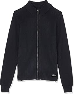 Mossimo Boys' Flint Zip Thru Knit
