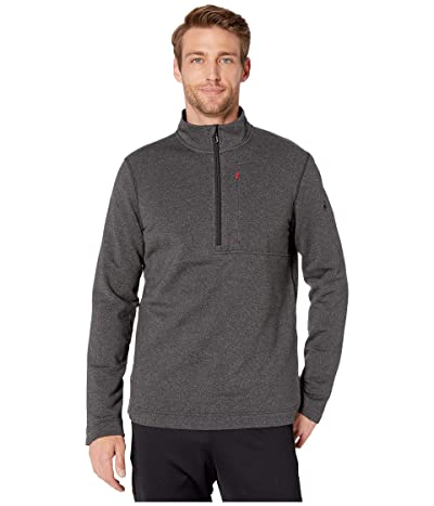 Smartwool Merino Sport Fleece 1/2 Zip (Charcoal Heather) Men