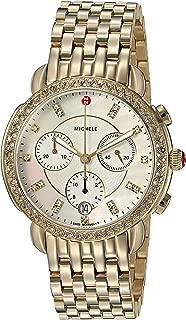 Women's Sidney Diamond Bezel Gold Plated Stainless Steel Watch