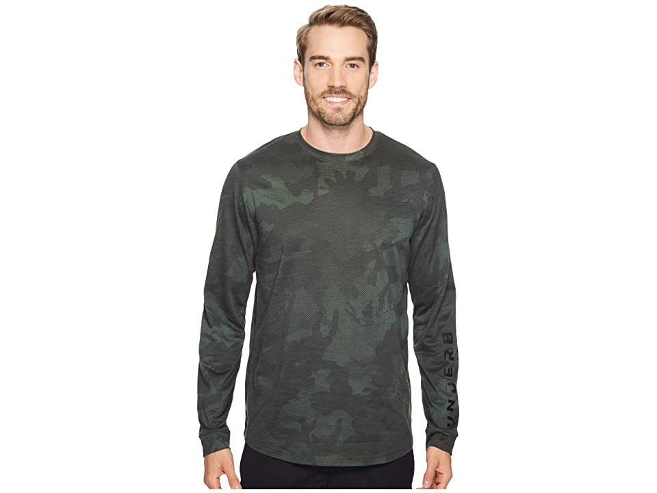 Under Armour Sportstyle Long Sleeve Graphic Tee (Artillery Green/Black) Men