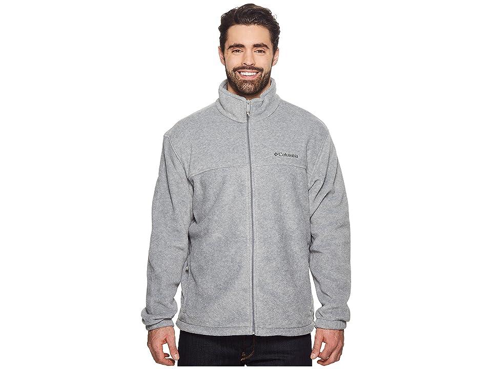 Columbia Big Tall Steens Mountaintm Full Zip 2.0 Jacket (Light Grey Heather) Men