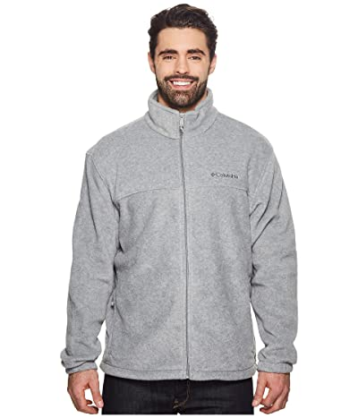 Columbia Big Tall Steens Mountaintm Full Zip 2.0 Jacket (Light Grey Heather) Men