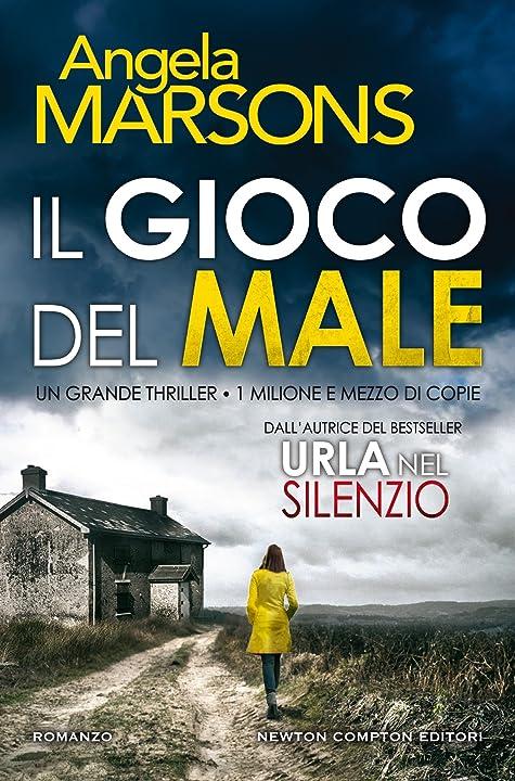 il gioco del male (italiano) copertina rigida angela marsons 978-8854194779