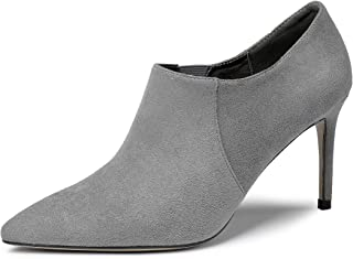 EDEFS Scarpe col Tacco Donna,Scarpe col Tacco Punta Chiusa Donna,85mm High Heel Elegante Pump