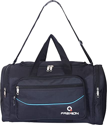 47 litres Polyester Travel Duffle Soft Sided Duffel with Water Proof Blue 47 cm Set 0f 1 pcs Bags