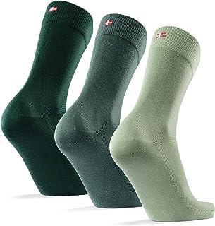 DANISH ENDURANCE Calcetines de Bambú para Hombre y Mujer, Calcetines Ejecutivos Super Suaves, Cómodos, Transpirables y Dur...