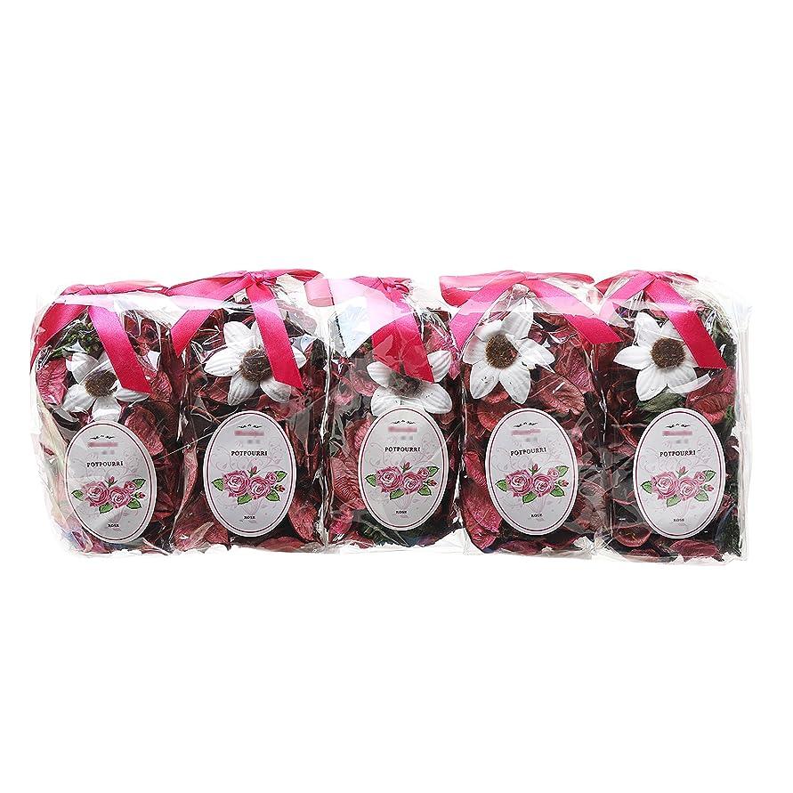 王子社会主義者ステートメントqingbei Rinaギフト。フレッシュラベンダーポプリバッグ、花びら、香水サッチェル、装飾ボウル、花瓶。5バッグ。9oz。 ピンク RUINA-5G