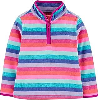 Quarter-Zip Fleece Cozie Toddler/Little Girls