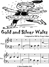 Gold and Silver Waltz Beginner Tots Piano Sheet Music