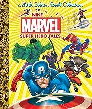 Nine Marvel Super Hero Tales (Marvel) (Little Golden Book Collection)
