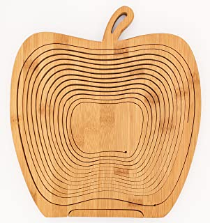 Best bamboo folding apple basket Reviews