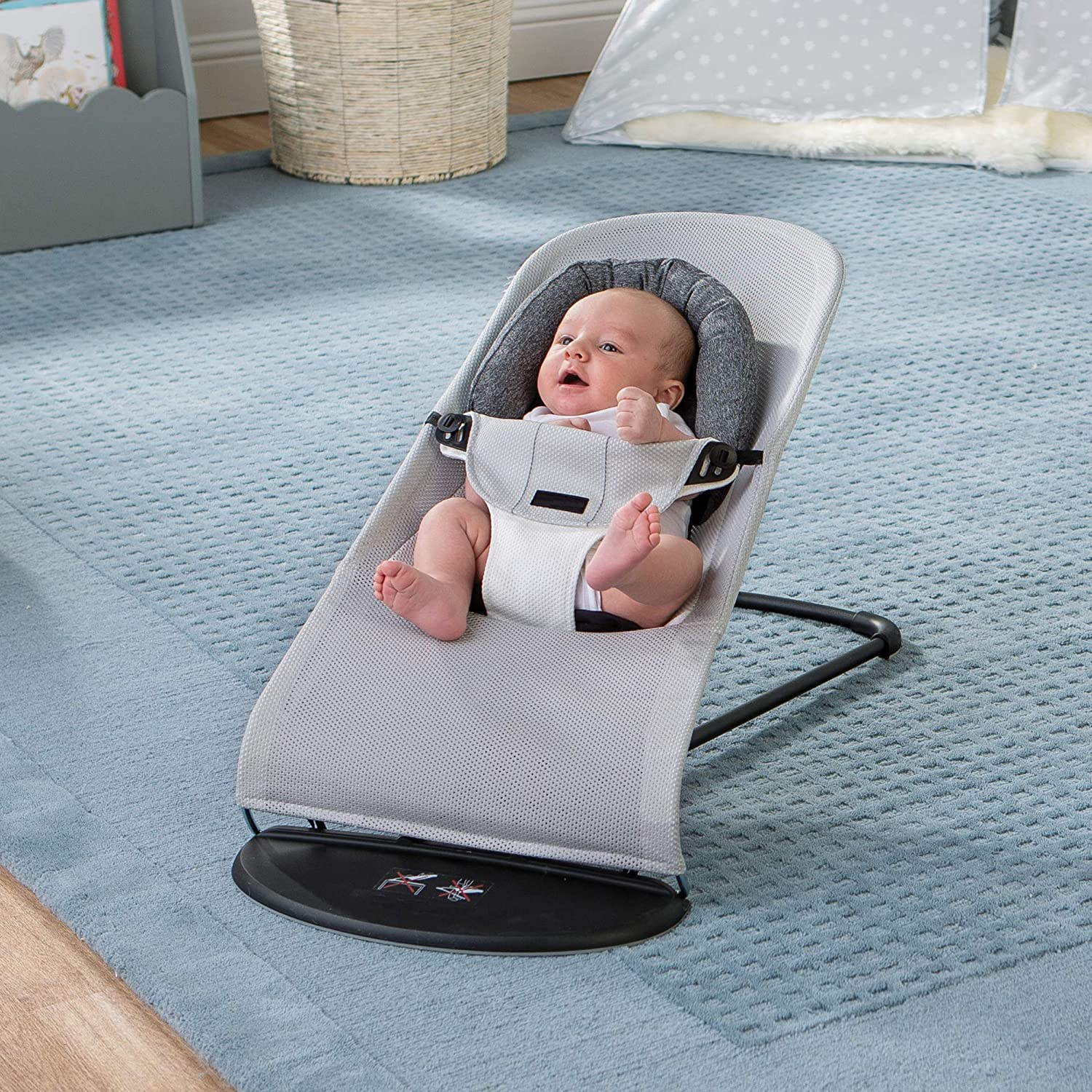 Boppy Head & Neck Support, Charcoal Heathered