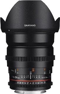Samyang SYDS24M-NEX VDSLR II E Mount 24 mm Wide-Angle Lens