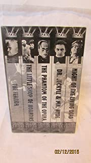 Horror Classics: The Phantom of the Opera, The Terror, The Little Shop of Horrors, Dr. Jeckyll & Mr. Hyde, Night of the Living Dead