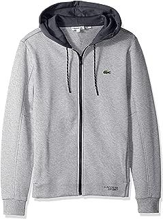 Lacoste Men's Fleece Sweatshirt Ergonmic Detail