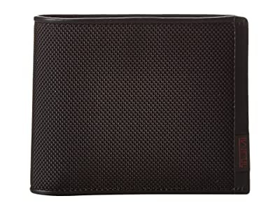 Tumi Alpha Global Removable Passcase ID (Black) Wallet