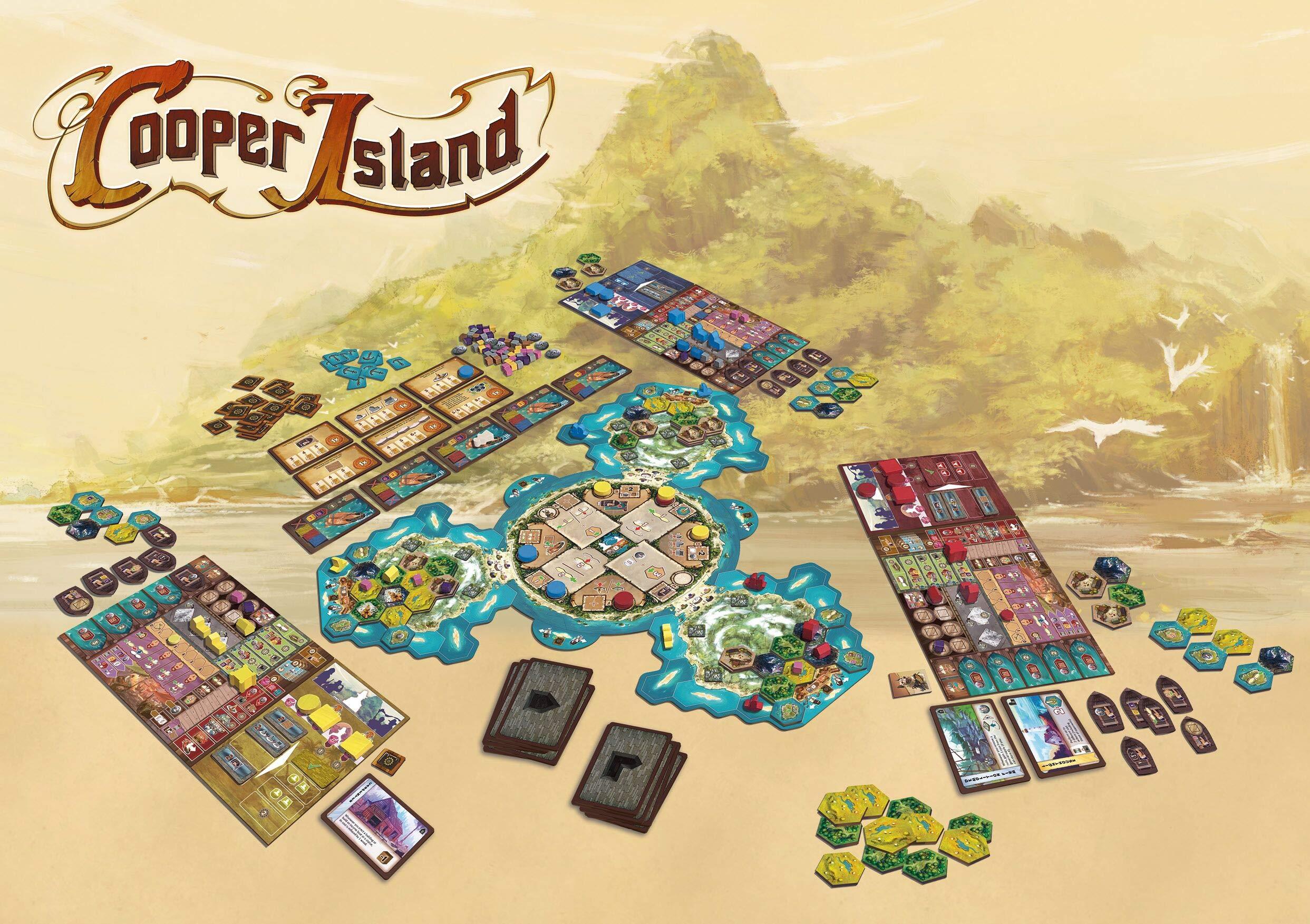 Cooper Island (inglés): Amazon.es: Juguetes y juegos