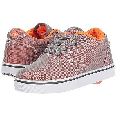 Heelys Launch (Little Kid/Big Kid/Adult) (Charcoal/Orange Super Mesh) Boys Shoes
