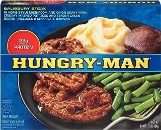 Hungry Man, Salisbury Steak, 16 oz, (8 count)