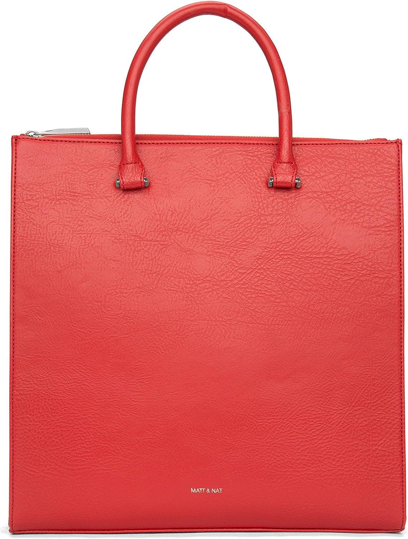 Matt & Nat Hilton Dwell Handbag, Ruby, Medium