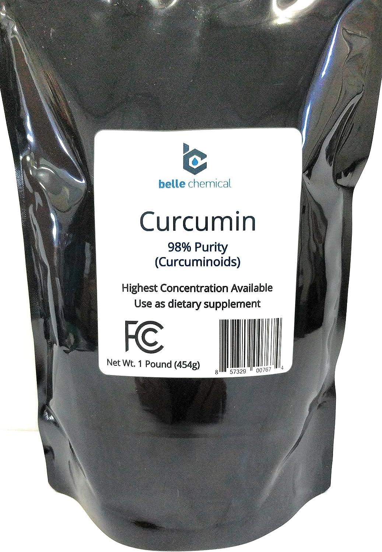 98% Pure Fashionable Curcumin New color Powder 1 Curcuminoids Pound