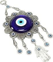 "3/"" Large Turkish Blue Evil Eye Amulet Wall Hanging Decor Protection US Seller"