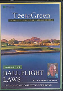 Golf Ball Flight Laws Diagnosing and Correcting Your Swing Volume 2 (DVD)