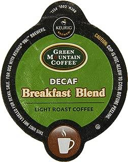 Green Mountain Coffee Breakfast Blend Decaf, Vue Packs for Keurig Vue Brewers (32 Count)