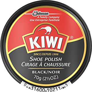 neutral shoe polish on black shoes