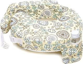 My Brest Friend Original Nursing Posture Pillow, Yellow & Green Buttercup Bliss