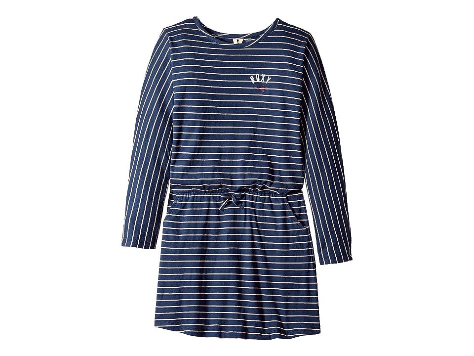 Roxy Kids Stay This Way Dress (Big Kids) (Tropical Peach Romantic Stripe) Girl