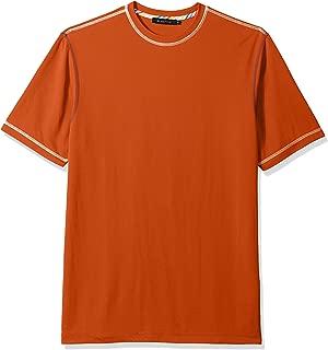 Bugatchi Men's Classic Fit Soft Fabric Short Sleeve Crew Neck