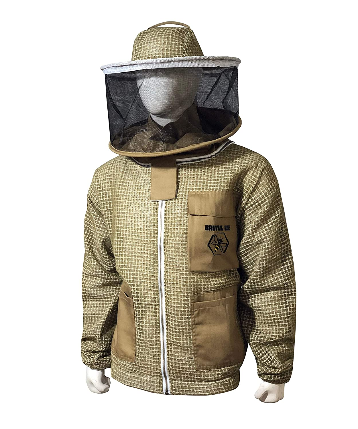Brutul Bee Seattle Mall 3 Layer Courier shipping free shipping Beekeeping Fully Ventilated Protection Jacket