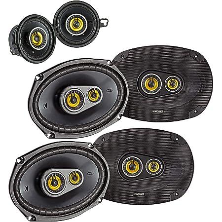 "Kicker for Dodge Ram Crew Cab 2012 & up Speaker Bundle- 2-Pairs of CS 6x9 Speakers, & a Pair of CS 3.5"" Speakers"