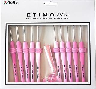 かぎ針・レース針セット 『ETIMO Rose (エティモロゼ) クッショングリップ付きかぎ針・レース針セット』 Tulip チューリップ
