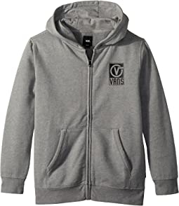 Vans Kids Worldwide Full Zip Fleece (Big Kids)