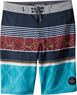 Rip Curl Kids - Mirage Sessions Boardshorts (Big Kids)