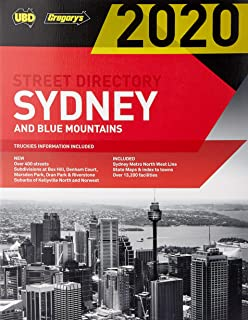 Sydney & Blue Mountains Street Directory 2020 56th ed: Including Truckies