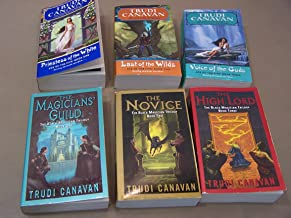 Set of 2 Trudi Canavan Trilogies (Age of the Five: Priestess of White, Last of Wilds, Voice of Gods: Black Magician: Magic...